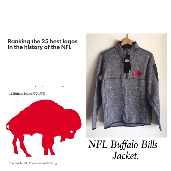 6e3bb96d NFL Buffalo Bills ANTIGUA Men's Jacket NWT